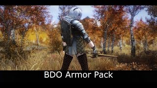 Skyrim Mods: BDO Armor Pack v1 3 | EndlessVideo