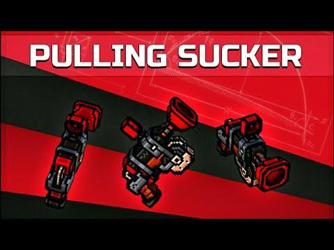 PULLING SUCKER GUN Pixel Gun 3D NEW TRADER'S VAN