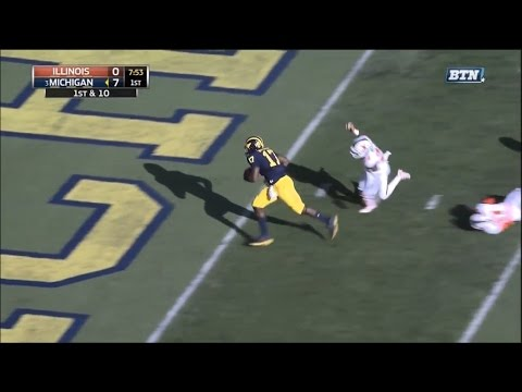 2016: Michigan 41 Illinois 8