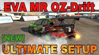 Eva MR OZ-Drift Ultimate Setup + test-drive! (Mitsubishi EVO 9 Ultimate) | CarX Drift Racing