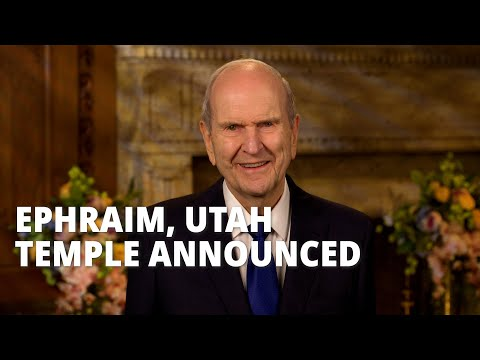 Prophet Tells Latter-day Saints in Central Utah That a New Temple Is Coming to Ephraim