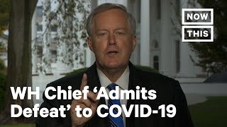 Trump Administration 'Admits Defeat' on Controlling Coronavirus | NowThis