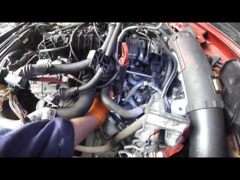 Как вытянуть двигатель BMW  F20 N47 \ How to pull out the engine