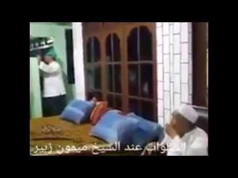 Mbah Maimun Menangis Shalawat Bareng Hadad Alwi Dan Para Santri