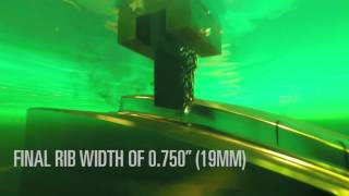 ednc6 sinker edm high speed rib machining with hypercut technology