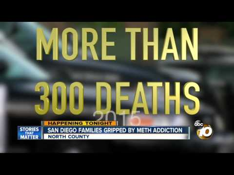 San Diego families gripped by meth addiction