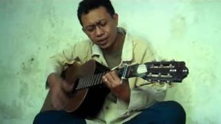 Wiwit Santoso sing the song of Ebiet G.A.D ( Berita Kepada Kawan )