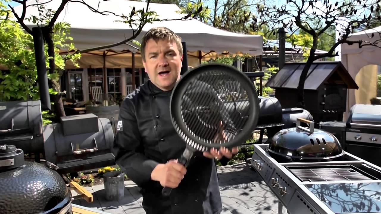 Grillpfanne Für Holzkohlegrill : Grilltipp martin weber`s grillpfanne youtube