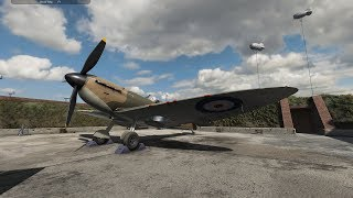 Plane Mechanic Simulator: Working on the Legendary SPITFIRE!