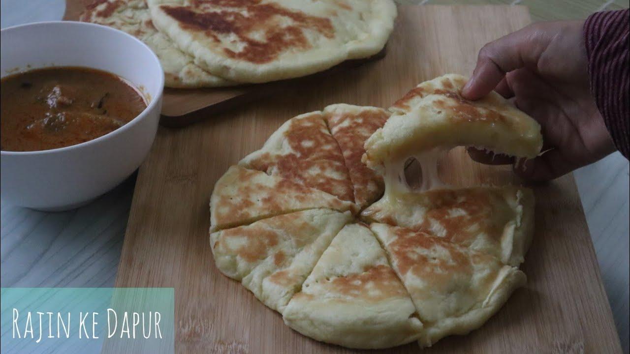 Resepi Roti Naan Cheese - Lembut, gebu SEDAP sangat! Cuba ...