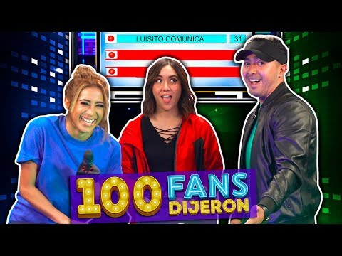 100 Fans Dijeron Ep. 4 | Hombres VS Mujeres