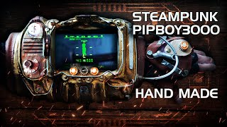 пип-бой 3000 своими руками в Стимпанк стиле/How i make Steampunk Pipboy 3000 from fallout