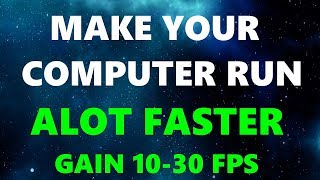 How To Make Your Computer Run Faster! HUGE Performance Boost! (2017)