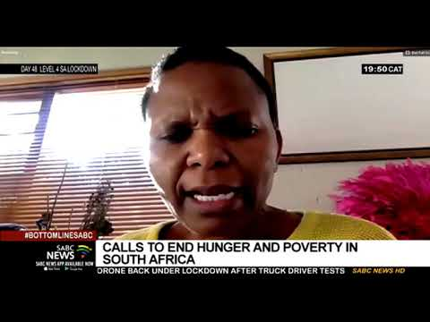 Calls to end hunger and poverty in South Africa