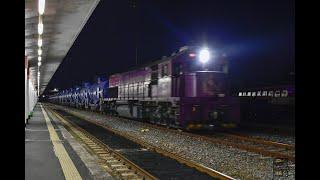 제천발 경주행 유류수송 화물열차 #3955+DEL 74…