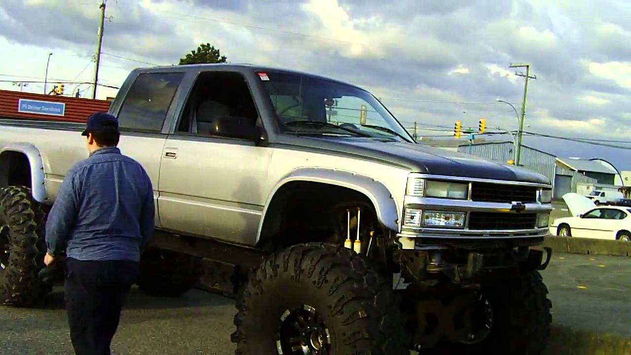All Chevy 95 chevy 3500 diesel : Chevrolet 3500 Crew Cab lifted truck 6.5L Turbo Diesel - YouTube