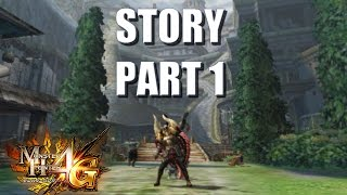 let s play monster hunter 4 ultimate 4g story translated 1 setting the scene in dondruma town