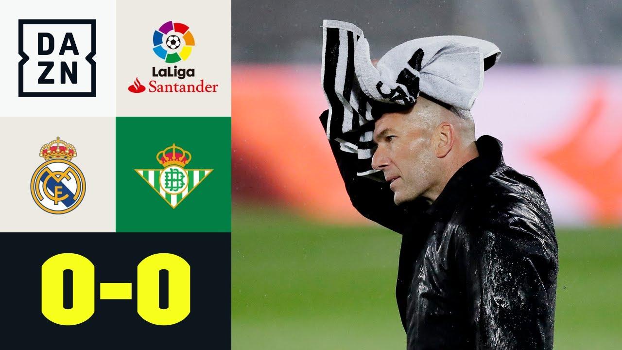Nur Unentschieden! Real verpatzt CL-Generalprobe: Real Madrid - Real Betis  0:0 | LaLiga