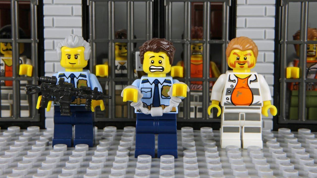 Lego Prison Break Escape Fail