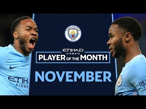 I COULD BE JUSTIN BIEBER! | Raheem Sterling | ETIHAD Player Of The Month | NOVEMBER |