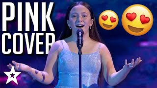 Roberta Sings PINK Cover What About Us on America's Got Talent 2020 | Got Talent Global