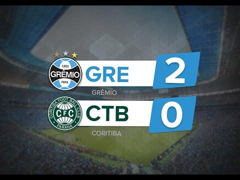 Grêmio 2 x 0 Coritiba - Melhores momentos - Brasileirão 2016