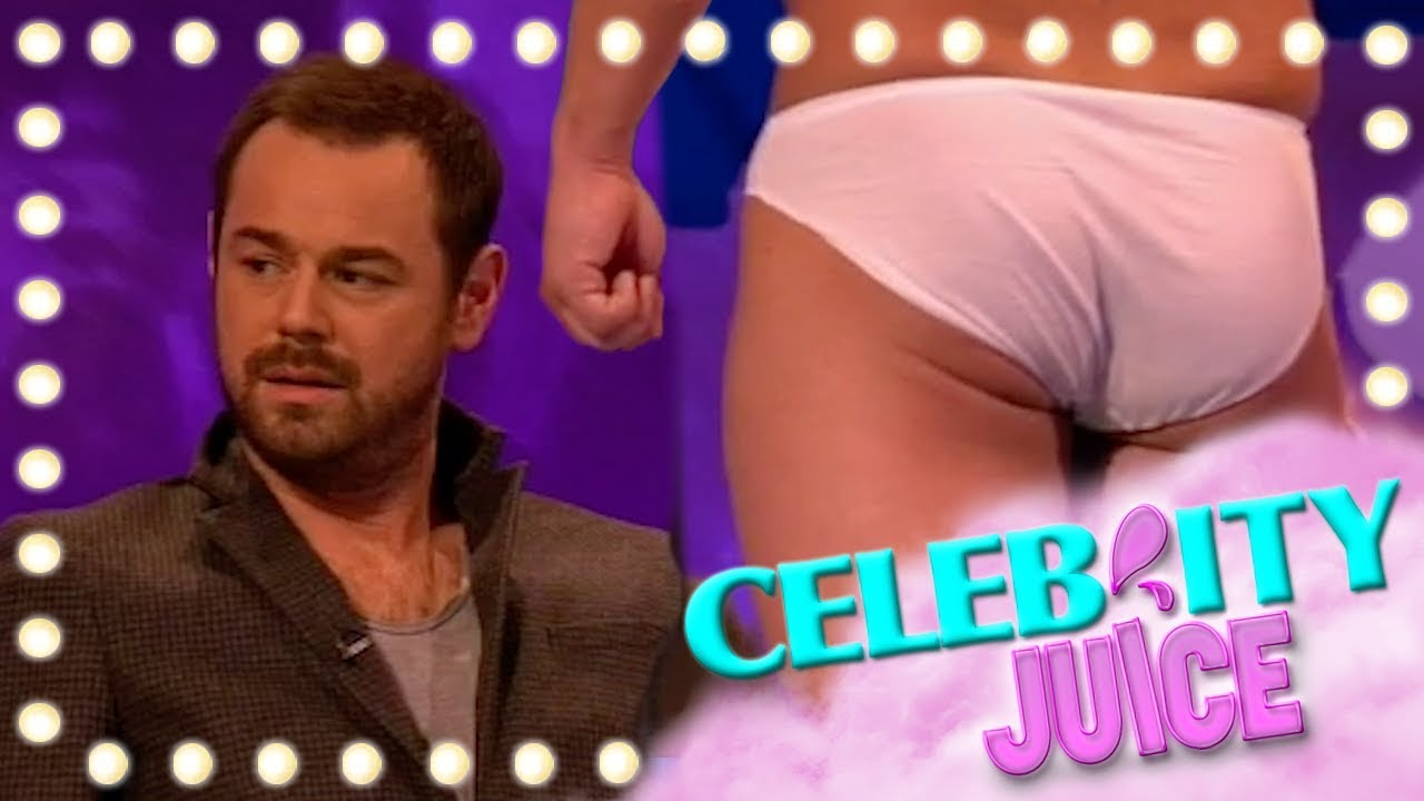 All Celebrity Naked Photos danny dyer is not happy playing real life *naked* hangman   celebrity juice    series 10