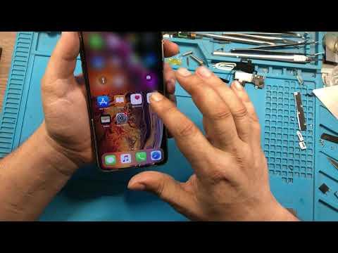 IPhone XS MAX замена стекла / IPhone Xs MAX Broken Screen Glass Repair