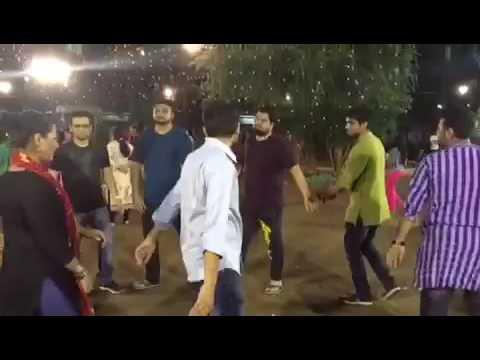 Boys when Girls Entering into their Group - Funny Garba in Gujarat