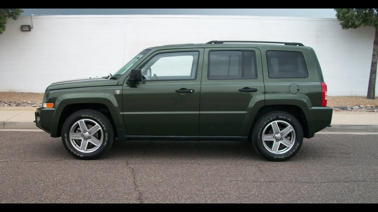 2008 Jeep Patriot Sport Sunroof Loaded Pr1199