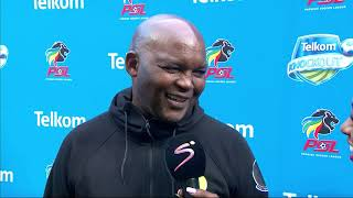 Telkom Knockout | QF | Chippa United v Mamelodi Sundowns | Post-match interview with Pitso Mosimane