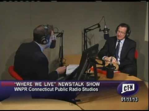 Gov. Malloy's monthly interview on WNPR's Where We Live - January 2013