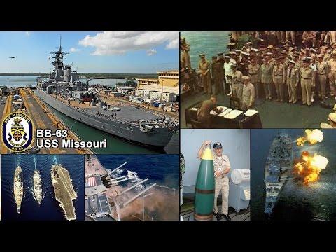 挑戰新聞軍事精華版-- 二戰日本投降的見證者「密蘇里號戰列艦」揭密