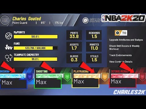 *NEW* NBA 2K20 UNLIMITED BADGE GLITCH!AFTER 1.03!MAX OUT ALL BADGES FAST!