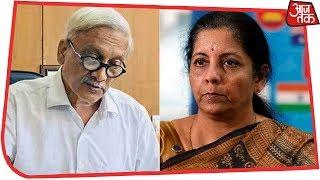 Defence Minister Nirmala Sitharaman Condoles Manohar Parrikar's Death thumbnail