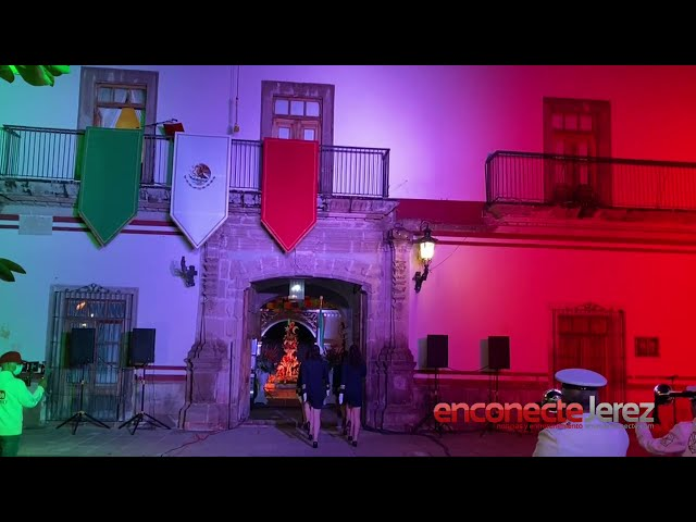 Grito de Independencia en Jerez Zacatecas