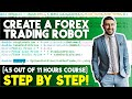 How to build a Forex trading robot - YouTube