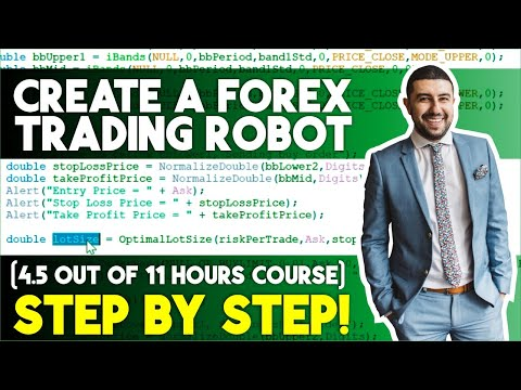 Forex Algorithmic Trading Course: Learn How to Code on MQL4 (STEP BY STEP)