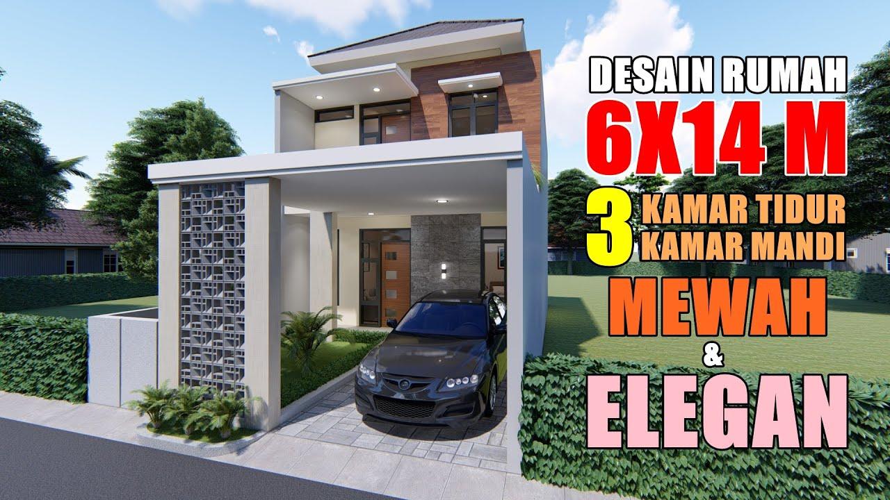 rumah minimalis 6x14 3 kamar tidur