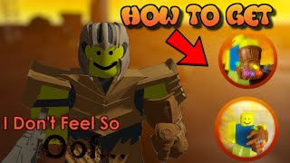 HOW TO GET ALL 6 OOFINITY STONES in I Don't feel so Oof   Roblox