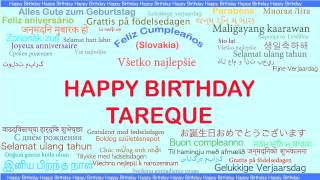 Tareque   Languages Idiomas - Happy Birthday