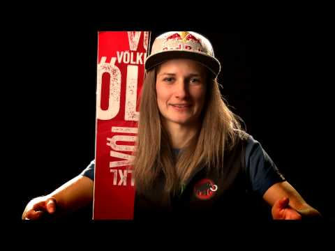 Learning to Freeride with World Champion Nadine Wallner