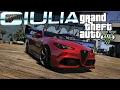 ALFA ROMEO GIULIA QV! GTA 5 MOD