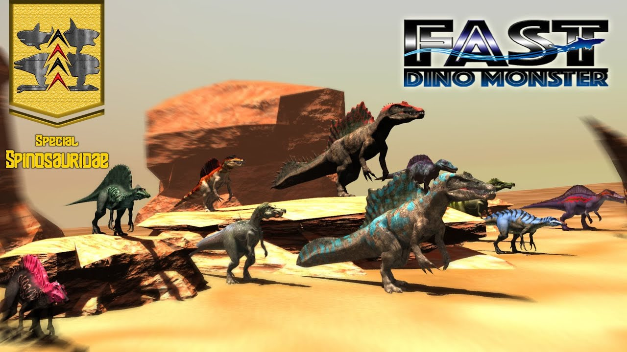 Download Dinosaurs Battle : Fast Monster Special Spinosauridae