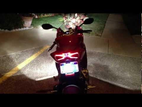 Ducati 1199 Panigale Custom Tail Tidy