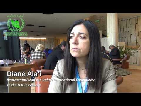 IOPHRI Interviews Diane Ala'i - UN's Baha'i Representative in Geneva