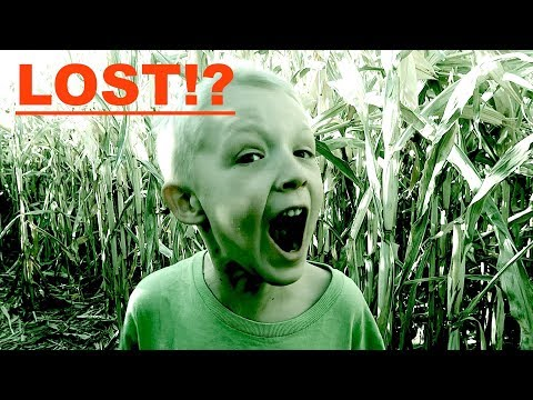 LOST IN HAUNTED CORN MAZE!