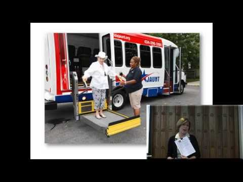 Transportation for Senior Citizens in Charlottesville Virginia