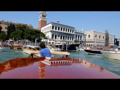 Venice, Italy: boat trip to Piazza San Marco