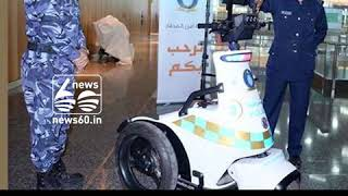 robot dogs in airport for security plans cisf